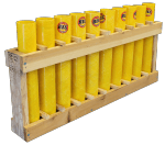 12 Tube Display Rack