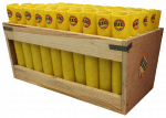 50 Tube Display Rack