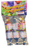 Champagne Party Popper 6 Pack